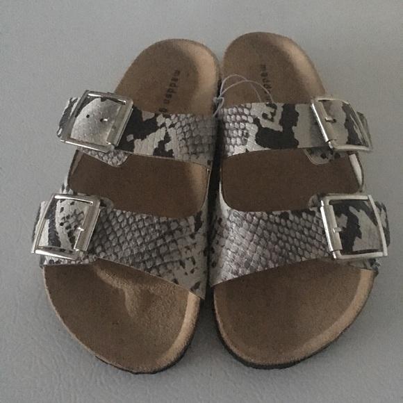 a69406225 Madden Girl Shoes | Womens Brando Slideon Sandal Size 7 | Poshmark